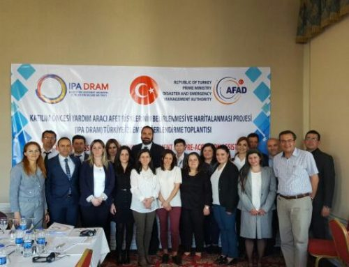 Ankara, 20th April 2017, EU-funded Programme IPA DRAM in Ankara to support disaster risk assessment