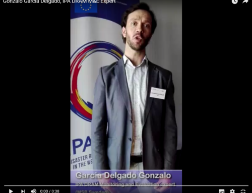 Gonzalo Garcia Delgado, IPA DRAM M&E Expert